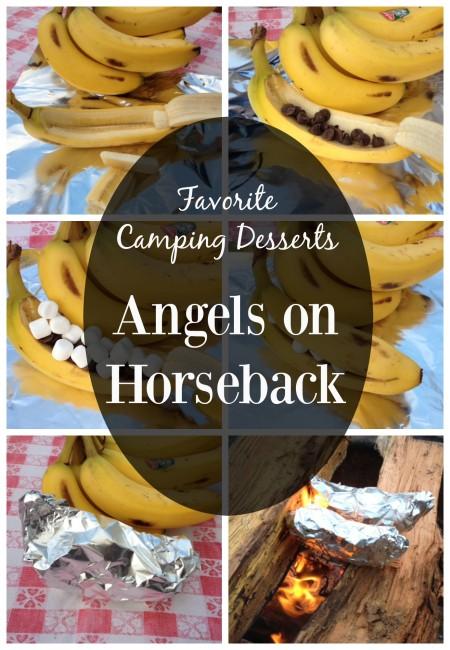 Angels on horseback graphic