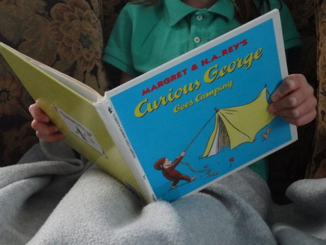 Camping kids book list