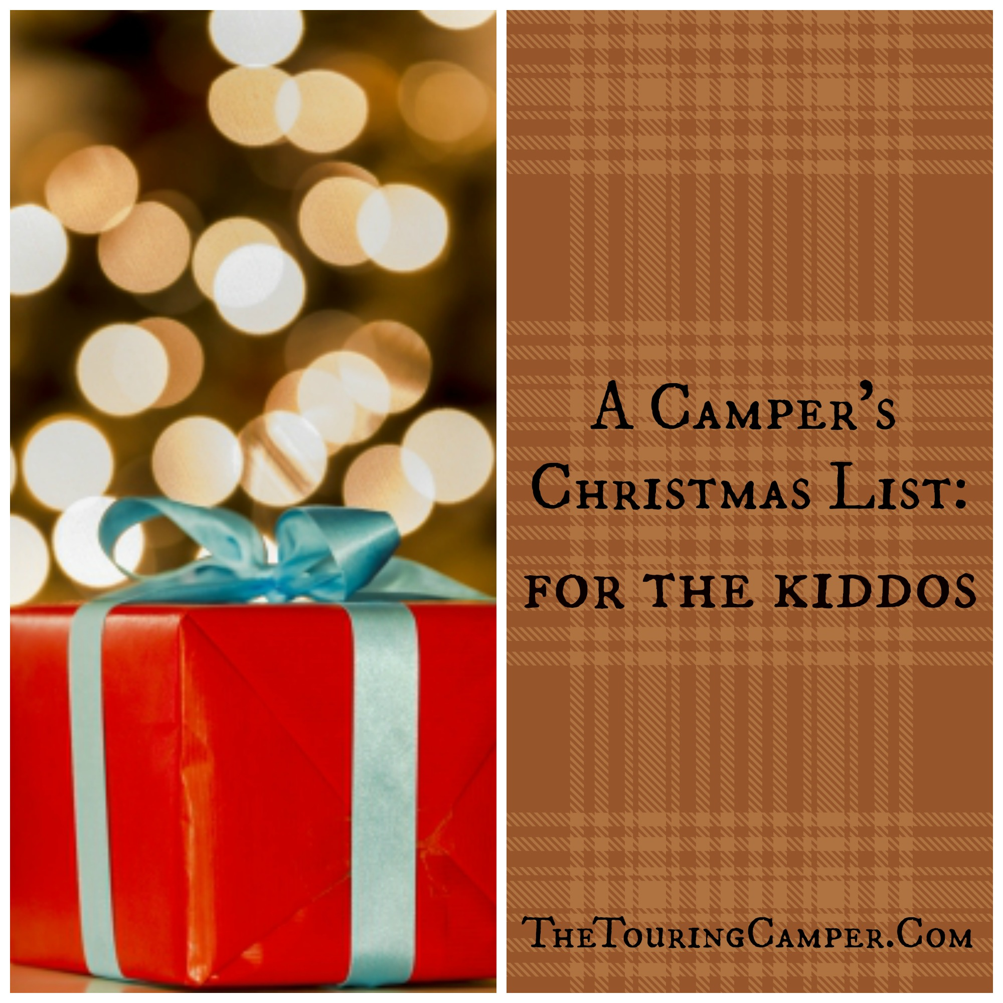 camping gifts for the kiddos