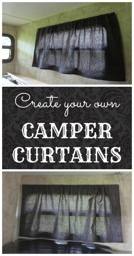 Creating Camper Curtains