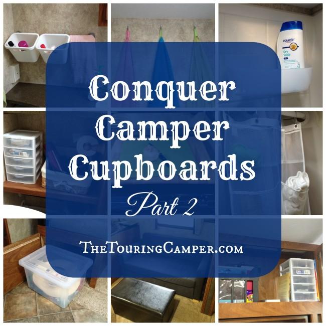 Conquer Camper Cupboards Part 2