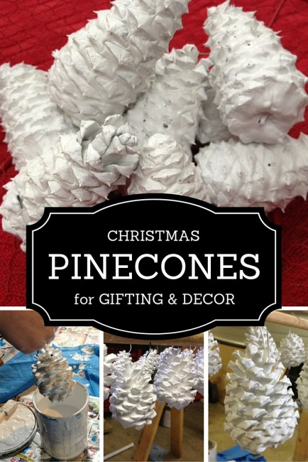 Christmas Pinecones