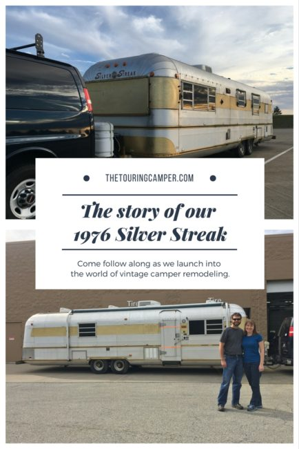 Meet Tilley, our 1976 Silver Streak - The Touring Camper