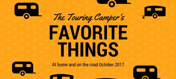 Favorite Things: October 2017